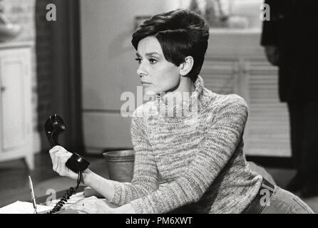 Audrey Hepburn, 'Wait Until Dark' (1967) Warner  File Reference # 31202 039THA - Stock Photo
