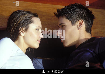 Film Still / Publicity Still from 'What a Girl Wants'  Amanda Bynes, Oliver James © 2003 Warner Bros.  Photo Credit: Frank Connor   File Reference # 30753235THA  For Editorial Use Only -  All Rights Reserved - Stock Photo
