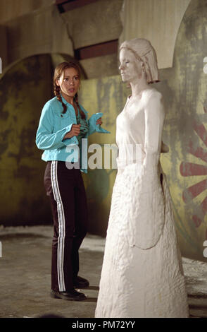 Film Still / Publicity Still from 'Charmed' (Episode: Size Matters) Alyssa Milano 2001 Photo credit: Richard Cartwright    File Reference # 308471225THA  For Editorial Use Only -  All Rights Reserved - Stock Photo