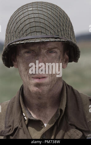 Film Still / Publicity Still from 'Band of Brothers' Damian Lewis 2001 Photo credit: David James  File Reference # 308471421THA  For Editorial Use Only -  All Rights Reserved - Stock Photo