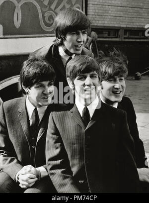 The Beatles, Paul McCartney, George Harrison, John Lennon and Ringo Starr, 'A Hard Day's Night' 1964 File Reference # 30928 107THA - Stock Photo
