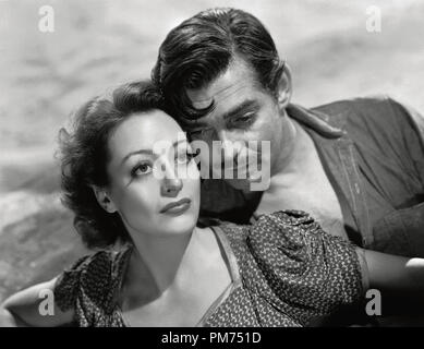 Clark Gable and Joan Crawford, 'Strange Cargo' 1940 MGM File Reference # 30928 275THA - Stock Photo