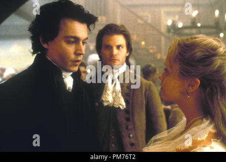 Film Still / Publicity Still from 'Sleepy Hollow' Johnny Depp, Casper Van Dien, Christina Ricci © 1999 Paramount / Mandalay Pictures Photo Credit: Clive Coote   File Reference # 30973558THA  For Editorial Use Only -  All Rights Reserved - Stock Photo