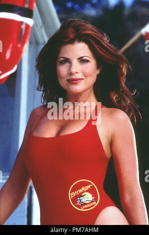 Film Still from 'Baywatch' Yasmine Bleeth © 1996 All American TV  File Reference # 31042735THA  For Editorial Use Only - All Rights Reserved - Stock Photo