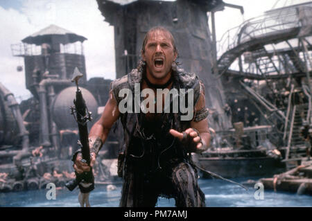 Film Still from 'Waterworld' Kevin Costner © 1995 Universal Pictures Photo Credit: Ben Glass  File Reference # 31043011THA  For Editorial Use Only - All Rights Reserved - Stock Photo
