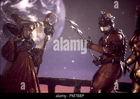 Film Still from 'Mighty Morphin Power Rangers: The Movie' Julia Cortez, Mark Ginther © 1995 20th Century Fox Photo Credit: Marc Vignes  File Reference # 31043213THA  For Editorial Use Only - All Rights Reserved - Stock Photo