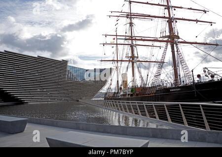 V&A, design museum, Dundee, Scotland, UK - Stock Photo