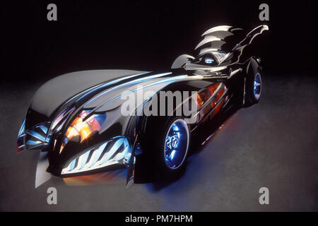 Film Still from 'Batman and Robin' Batmobile © 1997 Warner Brothers / DC Comics  File Reference # 31013433THA  For Editorial Use Only - All Rights Reserved - Stock Photo