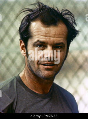 Jack Nicholson, 'One Flew Over the Cuckoo's Nest' 1975 UA File Reference # 31202 651THA - Stock Photo