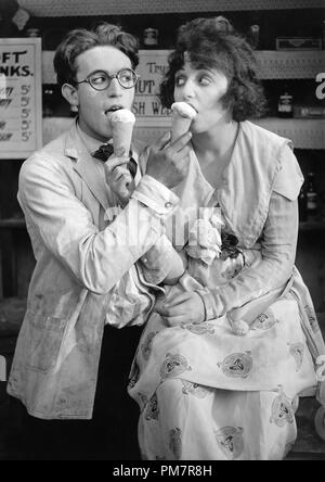 Studio Publicity Still: Harold Lloyd with Bebe Daniels  circa 1919   File Reference # 31386_1190THA - Stock Photo