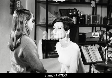 Audrey Hepburn, 'Wait Until Dark' 1967 Warner File Reference # 31386 396THA - Stock Photo