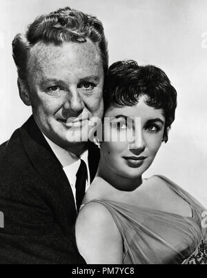 (Archival Classic Cinema - Elizabeth Taylor Retrospective) Elizabeth Taylor, and Van Johnson, 'The Last Time I Saw Paris' 1954 MGM File Reference # 31559_003THA - Stock Photo