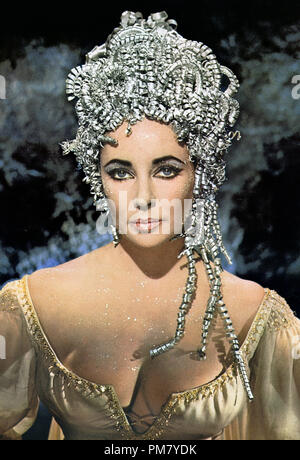 (Archival Classic Cinema - Elizabeth Taylor Retrospective) Elizabeth Taylor,'Doctor Faustus' 1967 Columbia  File Reference # 31559 035THA - Stock Photo