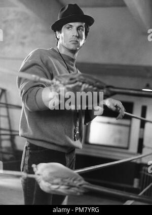 Film still or Publicity still from 'Rocky V' Sylvester Stallone © 1990 MGM  All Rights Reserved   File Reference # 31571094THA  For Editorial Use Only - Stock Photo