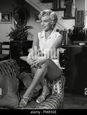(Archival Classic Cinema - Marilyn Monroe Retrospective) 'The Seven Year Itch' Marilyn Monroe 1955 20th Century Fox Cinema Publishers Collection File Reference # 31479_035THA - Stock Photo