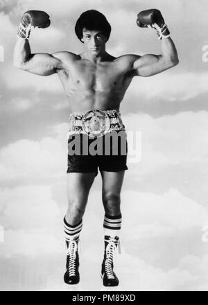 Studio Publicity Still from 'Rocky III' Sylvester Stallone © 1982 United Artists  All Rights Reserved   File Reference # 31710120THA  For Editorial Use Only