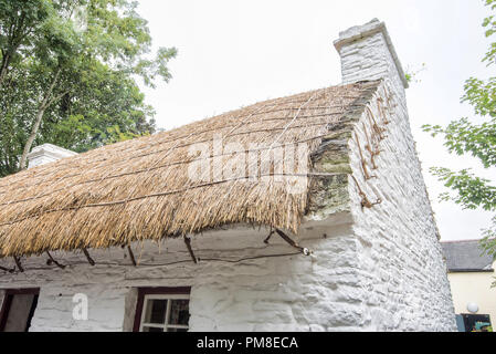 Bunratty Thatched Cottage - Stock Photo