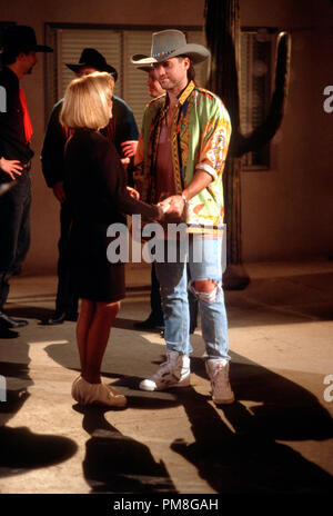 Film still / publicity still from 'Diagnosis Murder' Billy Ray Cyrus, Swoozie Kurtz circa 1993 CBS   File Reference # 31371316THA  For Editorial Use Only All Rights Reserved - Stock Photo