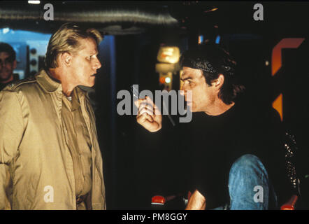 Film still or Publicity still from 'Under Siege' Gary Busey, Tommy Lee Jones © 1992 Warner Brothers  All Rights Reserved   File Reference # 31487_328THA  For Editorial Use Only - Stock Photo
