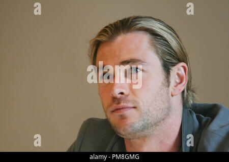 Chris Hemsworth 'The Avengers'  Portrait Session, April 13, 2012.  Reproduction by American tabloids is absolutely forbidden. File Reference # 31488_004JRC  For Editorial Use Only -  All Rights Reserved - Stock Photo