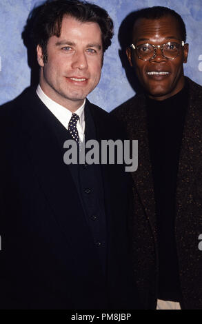John Travolta and Samuel L. Jackson during 'PulpFiction' press conference 1994  © JRC /The Hollywood Archive  -  All Rights Reserved  File Reference # 31515 349