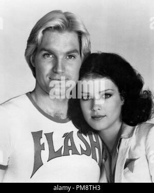Studio Publicity Still from 'Flash Gordon' Sam J. Jones, Melody Anderson © 1980 Universal All Rights Reserved   File Reference # 31715230THA  For Editorial Use Only - Stock Photo