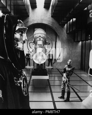Studio Publicity Still from 'Flash Gordon' Peter Wyngarde, Max von Sydow © 1980 Universal All Rights Reserved   File Reference # 31715231THA  For Editorial Use Only - Stock Photo