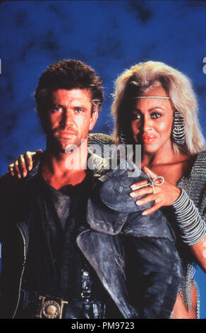 Studio Publicity Still from 'Mad Max Beyond Thunderdome' Mel Gibson, Tina Turner © 1985 Warner    All Rights Reserved   File Reference # 31703249THA  For Editorial Use Only - Stock Photo