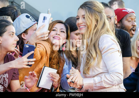 London, UK. 17th September 2018. Blake Lively at The UK Premiere of A Simple Favour on Monday 17 September 2018 held at BFI Southbank, London. Pictured: Blake Lively. Picture by Julie Edwards. Credit: Julie Edwards/Alamy Live News - Stock Photo