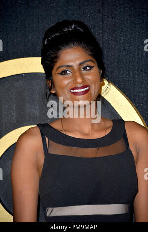 Los Angeles, USA.. September 17, 2018: Kumari at The HBO Emmy Party at the Pacific Design Centre. Picture: Paul Smith/Featureflash Credit: Sarah Stewart/Alamy Live News - Stock Photo