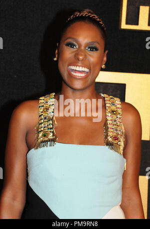 West Hollywood, USA. 17th Sep 2018. Actress Issa Rae attends HBO's Official 2018 Emmy After Party on September 17, 2018 at Pacific Design Center in West Hollywood, California. Photo by Barry King/Alamy Live News - Stock Photo