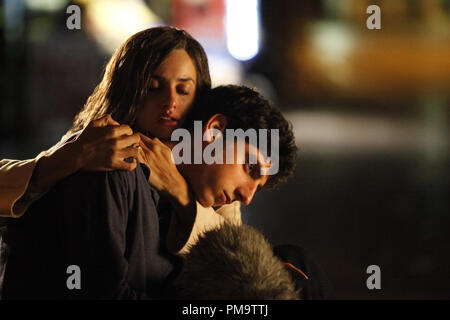 Penelope Cruz and Pietro Castellitto in Entertainment One's 'Twice Born' 2012 - Stock Photo