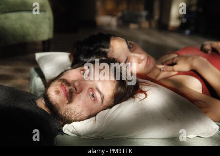 Saadet Aksoy and Emile Hirsch in Entertainment One's 'Twice Born' 2012 - Stock Photo
