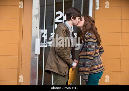 'Bates Motel': Episode 105. Freddie Highmore and Olivia Cooke - Stock Photo