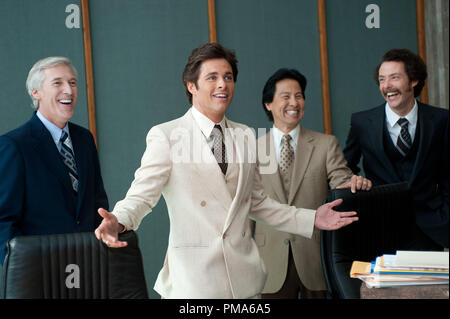 James Marsden (center) is Jack Lime in ANCHORMAN 2: THE LEGEND CONTINUES to be released by Paramount Pictures. - Stock Photo