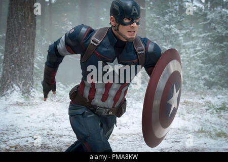 Marvel's Avengers: Age Of Ultron..Captain America/Steve Rogers (Chris Evans), Marvel 2015 - Stock Photo