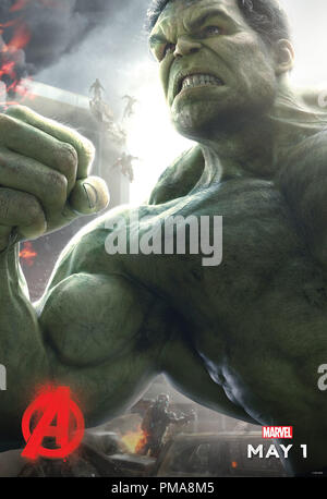 Marvel's Avengers: Age Of Ultron (Poster), Mark Ruffalo, Marvel 2015 - Stock Photo