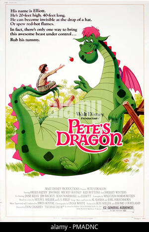 'Pete's Dragon' - US Poster 1977 Walt Disney Productions  Sean Marshall  File Reference # 32509 288THA - Stock Photo