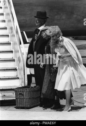 Donna Douglas, Buddy Ebsen, 'The Beverly Hillbillies', 1967 CBS File Reference # 32509_630THA - Stock Photo