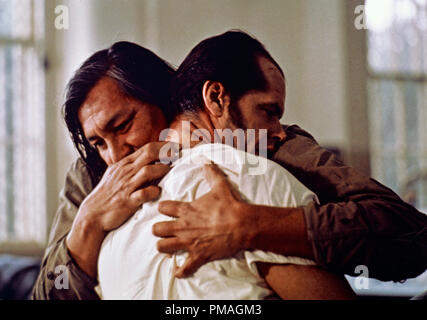 Jack Nicholson and Will Sampson, 'One Flew Over the Cuckoo's Nest'  1975 UA   File Reference # 32733 177THA - Stock Photo
