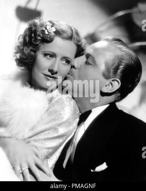 Irene Dunne and Melvyn Douglas, 'Theodora Goes Wild' 1936 Columbia  File Reference # 32733_211THA - Stock Photo