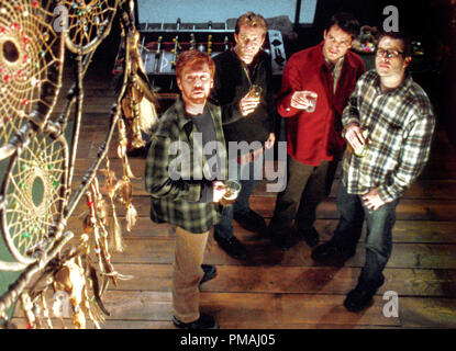 (L-r): DAMIAN LEWIS, THOMAS JANE, TIMOTHY OLYPHANT and JASON LEE in Castle Rock Entertainment's and Village Roadshow Pictures' supernatural thriller 'Dreamcatcher,' distributed by Warner Bros. Pictures. 2003 - Stock Photo
