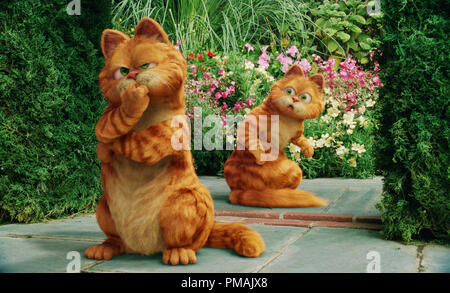 Garfield Prince Garfield A Tail Of Two Kitties 2006 Stock Photo Alamy