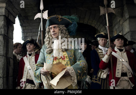 Jonathan Pryce (center)  'Pirates of the Caribbean: Dead Man's Chest' (2006) Disney Enterprises, Inc.  All rights reserved - Stock Photo