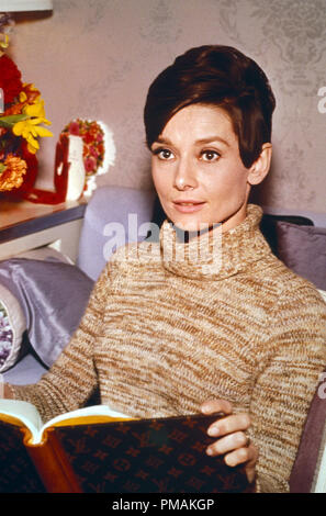 Audrey Hepburn, 'Wait Until Dark' (1967) Warner Bros.  File Reference # 33300 509THA - Stock Photo