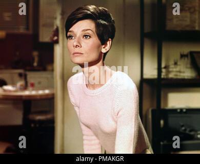 Audrey Hepburn, 'Wait Until Dark' (1967) Warner Bros.  File Reference # 33300 510THA - Stock Photo