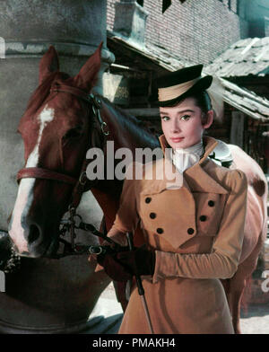 Audrey Hepburn, 'War and Peace' (1956) Paramount Pictures  File Reference # 33300 517THA - Stock Photo