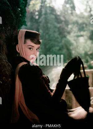 Audrey Hepburn, 'War and Peace' (1956) Paramount Pictures  File Reference # 33300 518THA - Stock Photo