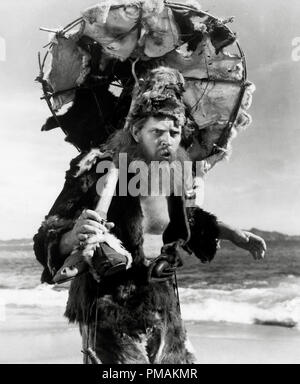 Dan O'Herlihy, 'The Adventures of Robinson Crusoe' aka 'Las Aventuras de Robinson Crusoe' (1954 Mexico) Producciones Tepeyac  File Reference # 33300 608THA - Stock Photo