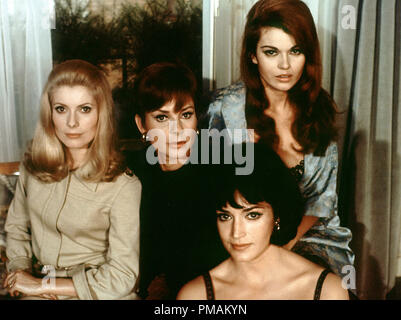 Catherine Deneuve, Genevieve Page, Francoise Fabian, 'Belle de Jour' (1967) Paris Film/Five Film    File Reference # 33300_794THA - Stock Photo